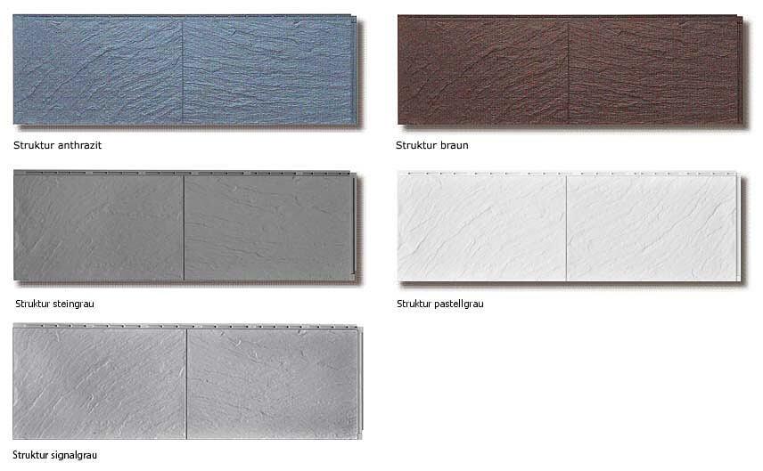 zierer strukturplatte farben
