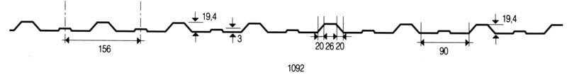 Trapezprofil LM 19