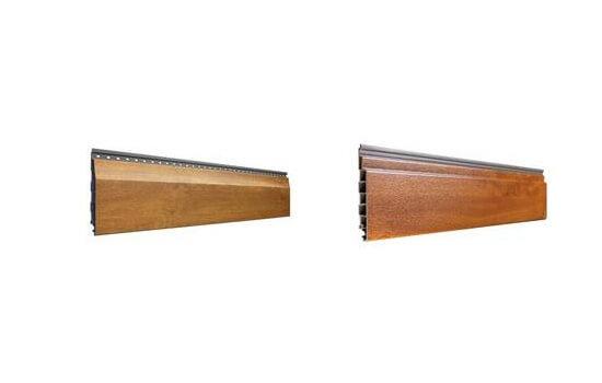 vinyPlus Fassadenpaneele - Rundprofil und Stülpprofil